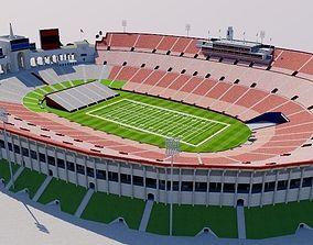 3D model Los Angeles Memorial Coliseum