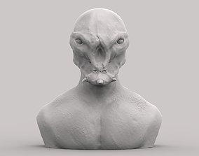 Space stranger 3D print model