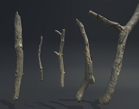 Sticks Vol 1 3D model