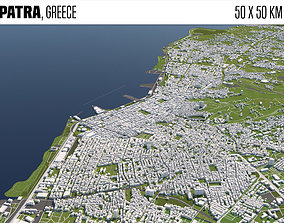 3D Patra Greece 50x50km