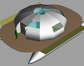 Housboat 3D printable model