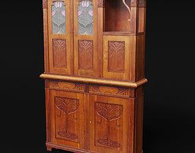 classic 3D model Cupboard Antique