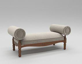 3D Luxury divan sofa