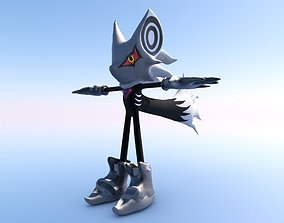 Infinite reworked Sonic Forces Character 3D model