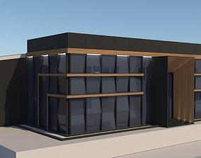 3D Factory Exterior