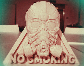 NO SMOKING 3D print model