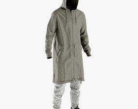Mens Sneakers with Pants Coat Tshirt 16 3D asset