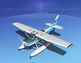 Cessna 182 Skylane Seaplane V11 3D