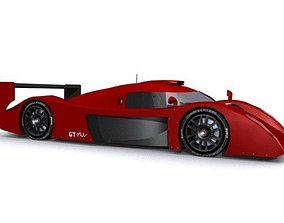 3D model Toyota GT-One