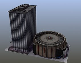 Madison Square Garden downtown 3D model