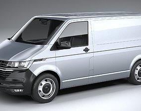 Volkswagen Transporter T6-1 Panelvan basic 2020 3D