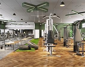 3D Gym room 2