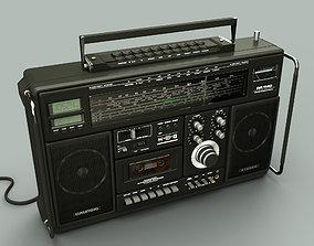 Grundig rr1140 Radio 3D asset