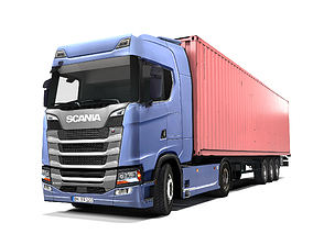 3D model realtime Scania S 500 New Generation