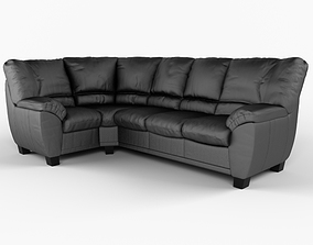 Angular sofa sofa-couch 3D