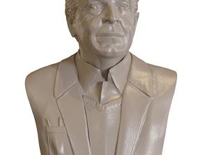 3D printable model Dr Walter Bishop Fringe Bust