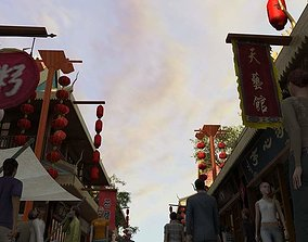 China street 045 3D model