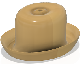 hat for 3d-print and cnc