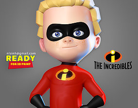Dash Parr - Incredibles Fanart 3D print model