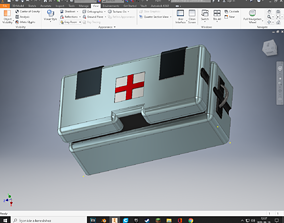 3D printable model Space Engineers Medical Component