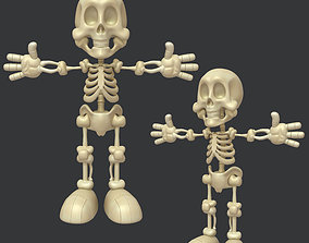 Skeleton Cartoon 3D