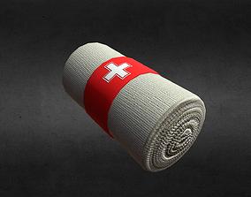 3D asset Elastic Adhesive Bandage