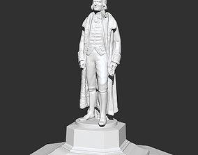 Thomas Jefferson statue 3D printable model