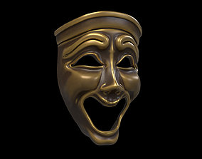 Comedy mask 3D