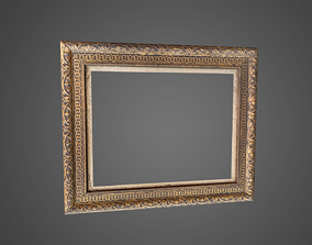 Picture Frame Low Poly 3D model