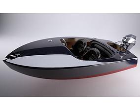 3D Glen-L Flying Saucer runabout