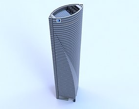 3D model Space Tower Madrid
