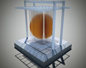 Jesus Soto - Esfera Caracas 3D model cinetico