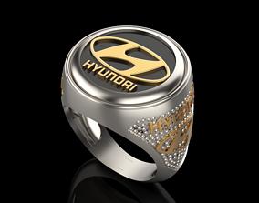 manring 3D printable model hyundai ring