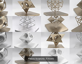 3D Platonic Sculptures