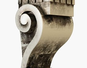 decor 3D print model wall pier