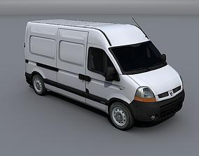 3D asset Renault Master 2005