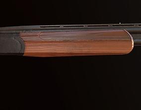 3D asset VR / AR ready Shotgun