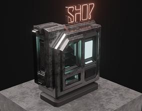 3D model SCI-FI SHOP-VENDING MACHINE