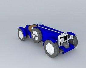 3D model Sportcar 1932