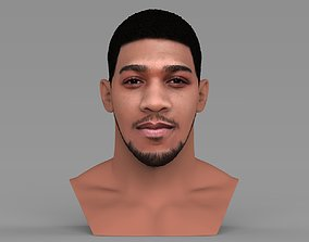 Anthony Joshua bust ready for full color 3D