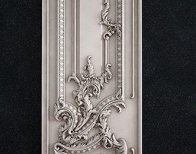 Door baroque 3d 3D print model