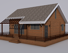 3D model rigged realtime House