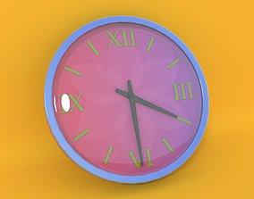 3D home Wall Clock