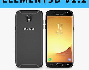 E3D - Samsung Galaxy J5 Official 2017 Black 3D model