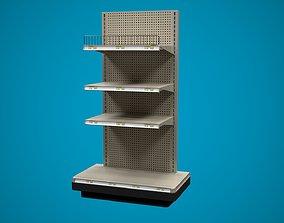 Store Shelf C End Cap 3D