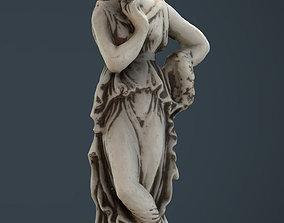 3D model Greek Woman Statue