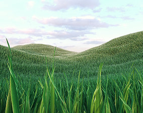 Grass Low Poly 3 3D model