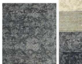 Mena Rug RH carpet 3D