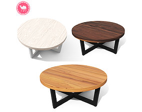 3D asset Toba Coffee Table