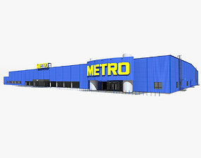 Metro Cash and Carry Hypermarket 3D model
